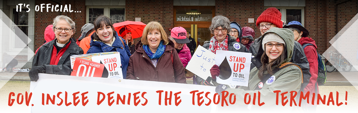 Gov. Inslee rejects the Tesoro Oil Terminal
